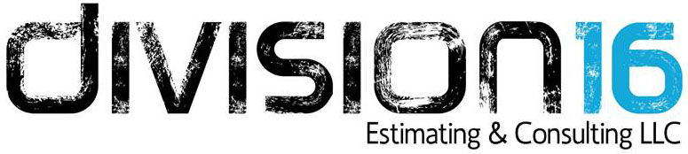 Division 16 Estimating & Consulting, LLC Logo
